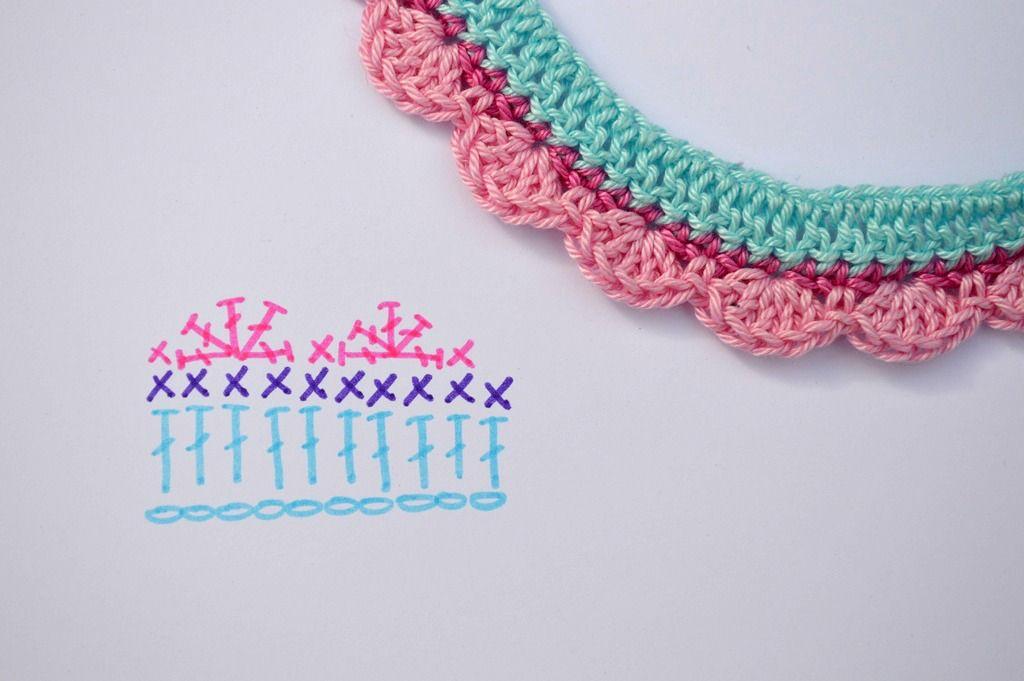 Pulsera de ganchillo | Elenarte | crochet | Pinterest | Crochet ...