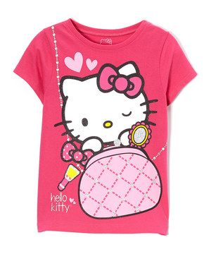 Loving this Paradise Pink Hello Kitty Tee - Girls on #zulily! #zulilyfinds