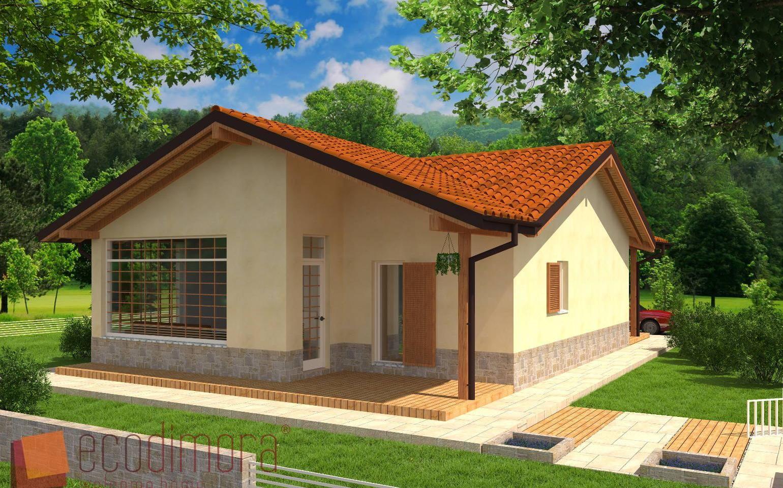 Interni Case Prefabbricate In Legno Prezzi.Casa Prefabbricata In Legno Easy 108 Case Prefabbricate