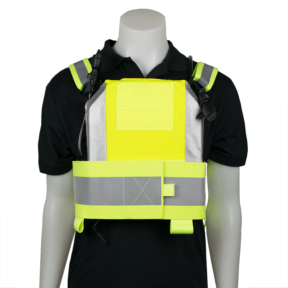 Icevest Hivis Safety Vest Safety Vest Vest Black Nylons