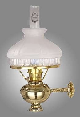 Aladdin Brand Deluxe Brass Wall Bracket Antique Lamp Supply