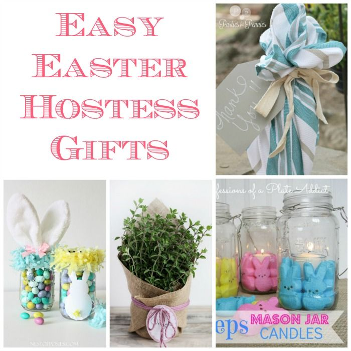 easy easter hostess gift ideas | easter and gift