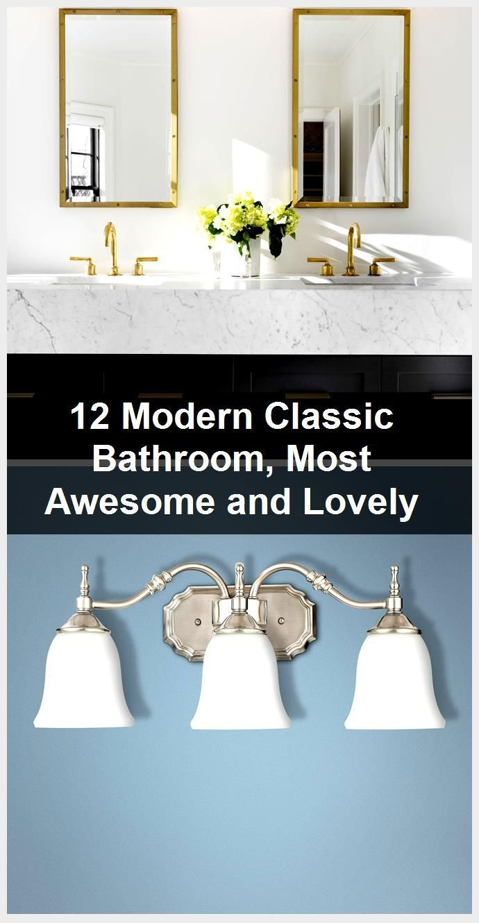 Photo of 12 Modern Classic Bathroom, Most Awesome and Lovely,  #Awesome #Bathroom #classic #Lovely #mo…