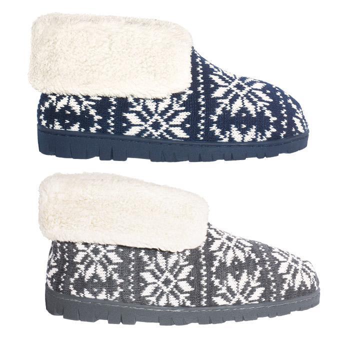 Fair Isle Lugg Fair Isle Slippers Top Quality by AVON