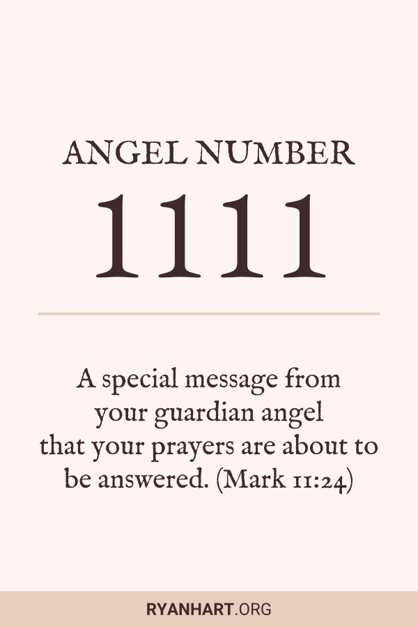 Learn the meaning of Angel Number 1111 and why you are seeing 11:11 on the clock.