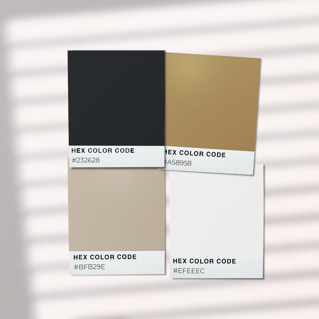 Black Gold Beige Color Palette Inspiration Beige Color Palette Black Color Palette Beige Color Scheme