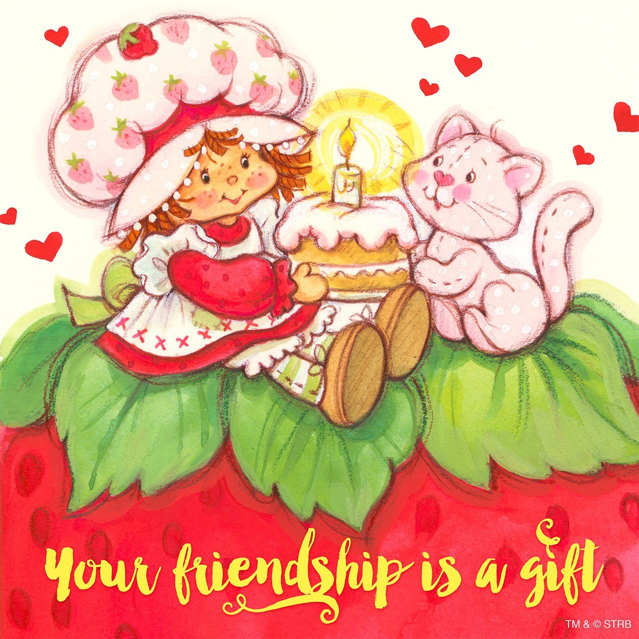 Classic Strawberry Shortcake - Your Friendship is a Gift | DIY y ...