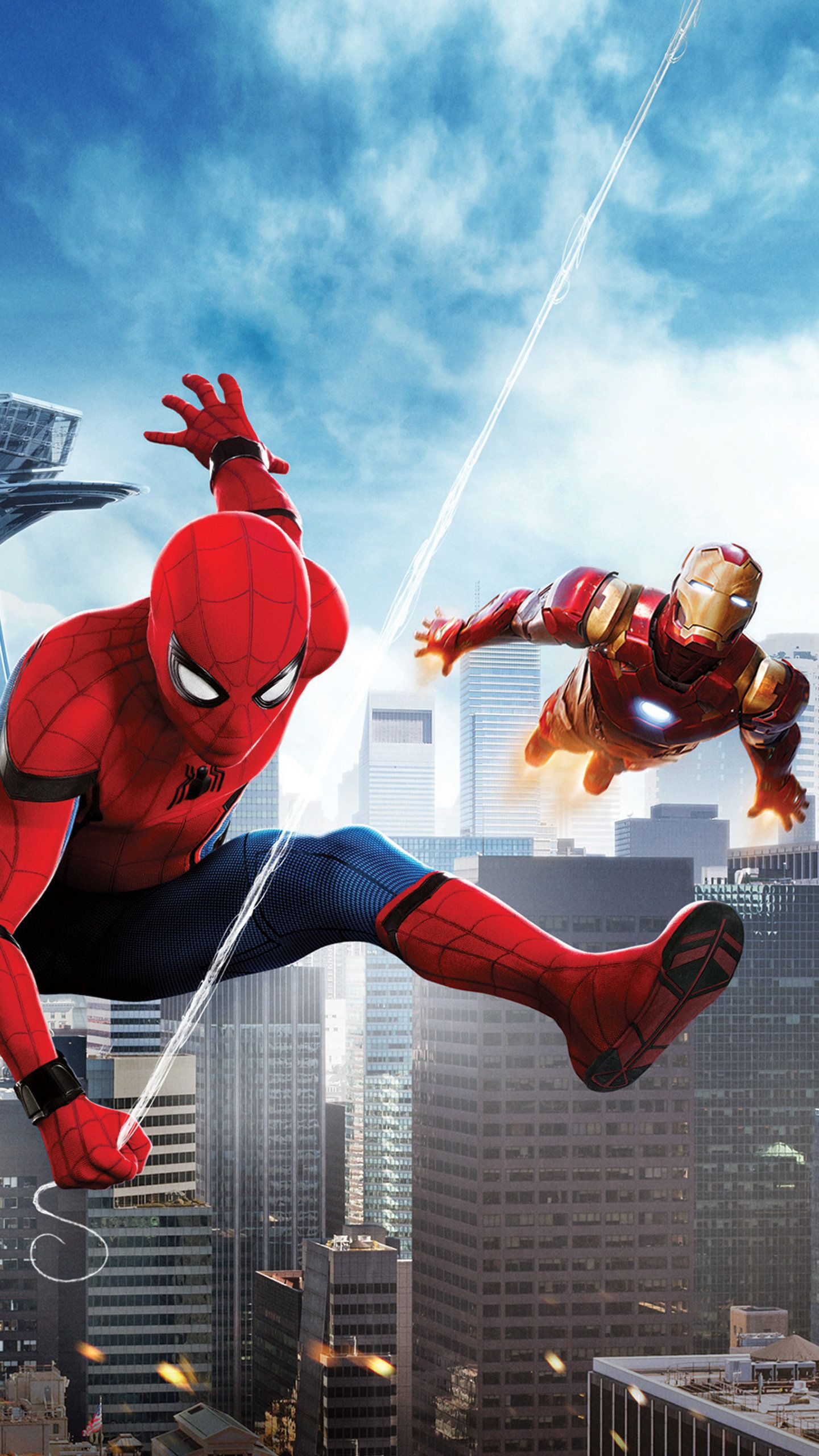 Spiderman And Iron Man 4k Hd Superheroes Wallpapers Photos