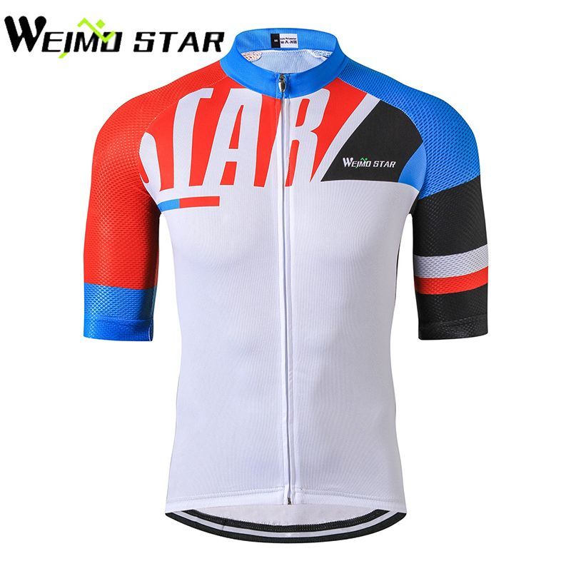 c620c17cb Weimostar Breathable Half Sleeve Bike Jersey Cycling Jersey Men mtb Bike  Jersey Top Bicycle Clothes Ropa