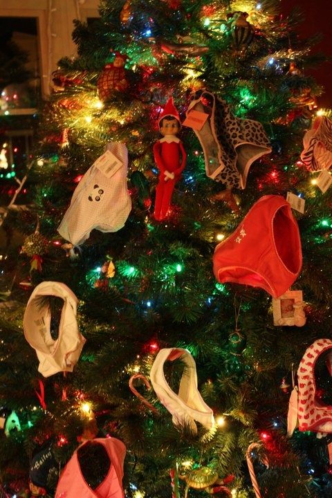 Elf on the Shelf ideas elf-mischief