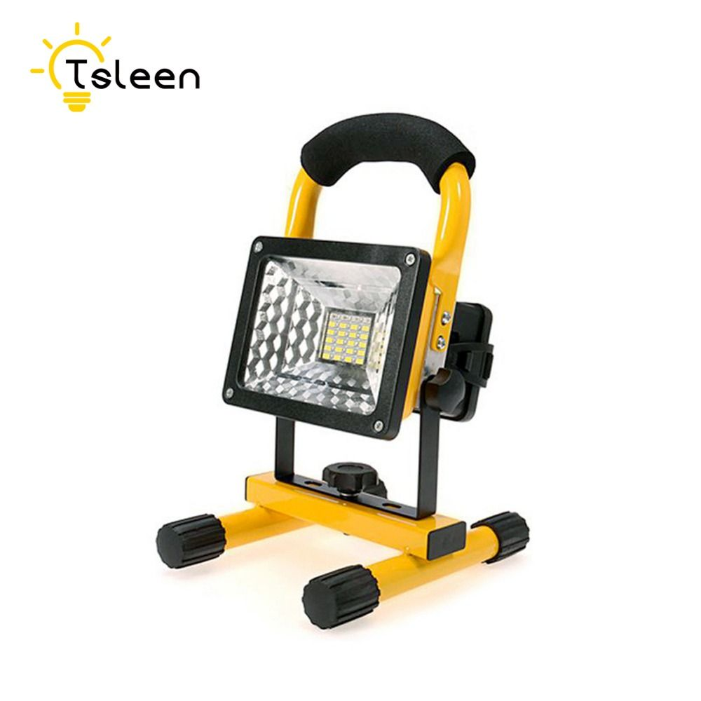 Tsleen led outdoor light floodlight 20w 30w 5 models waterproof led tsleen led outdoor light floodlight 20w 30w 5 models waterproof led flood light portable spotlight dimmer aloadofball Images