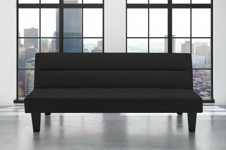 Details About Black Sofa Bed Kit Microfiber Cover Adjustable Sleeper Couch Office Furniture Sofa Bed Sofa Bed Black Sofa Bed Set