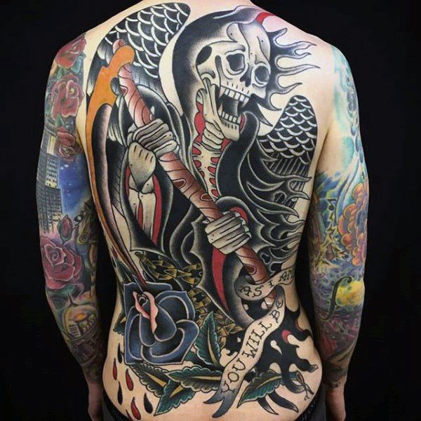 100 American Traditional Tattoos For Men Old School