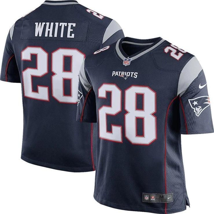 james white nfl jersey
