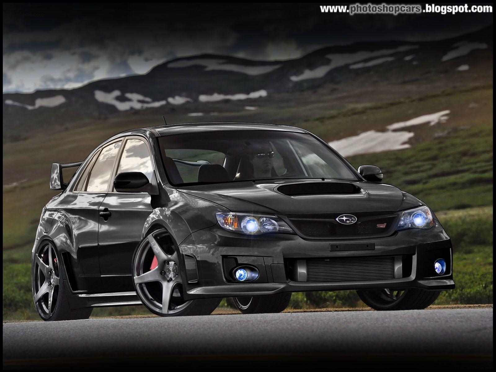 Subaru Impreza Black Hatchback