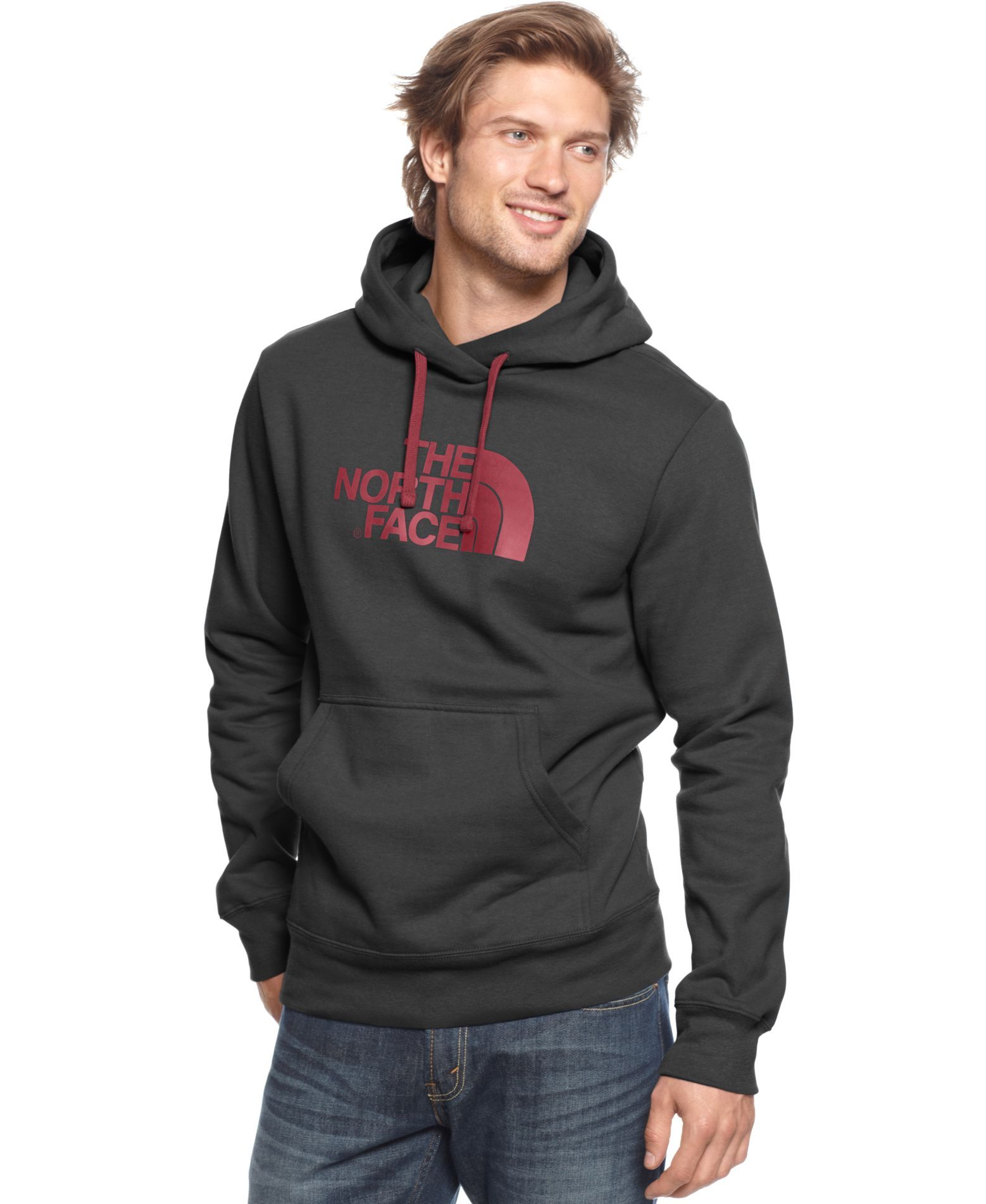 4bff30534 The North Face Hoodie, Half-Dome Logo Fleece | Products | North face ...