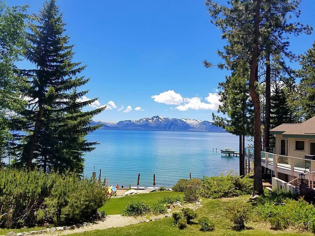 Keep Tahoe Blue . . . . . #beachdreams #sunshineseeker #southlaketahoe #happyplace #freshair #mountainview #summerdays #outdoorlife #landscapephotography #beautifulplaces #laketahoe #keeptahoeblue #sandytoes #coldwater #swimming #tuesdayvibes #visitcalifornia #visitnevada #wanderlust #exploremore #getoutside #beachvibes #mothernature #willtravelforwater #exploring #adventureseeker #landscapes #colorful