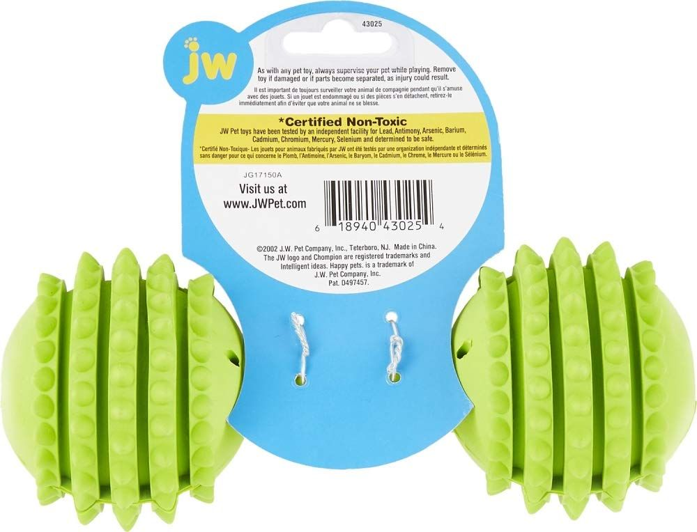 Jw Pet Company Chompion Dog Toy Colors Vary Company Chompion