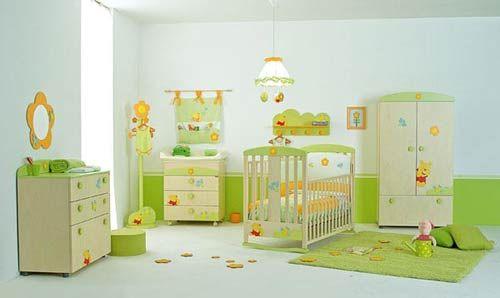 Chambre à coucher bébé   ... ideas para la habitación del bebe ...