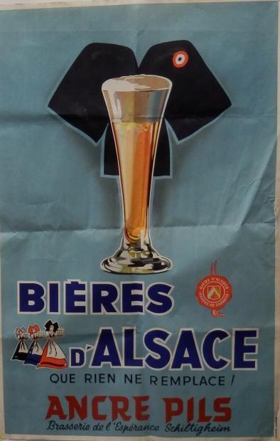 Bières d'Alsace que rien ne remplace ! Ancre Pils -