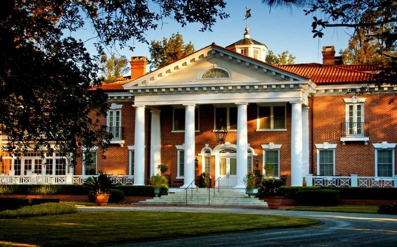 Woodlands Inn, South Carolina Mansions, Plantation homes