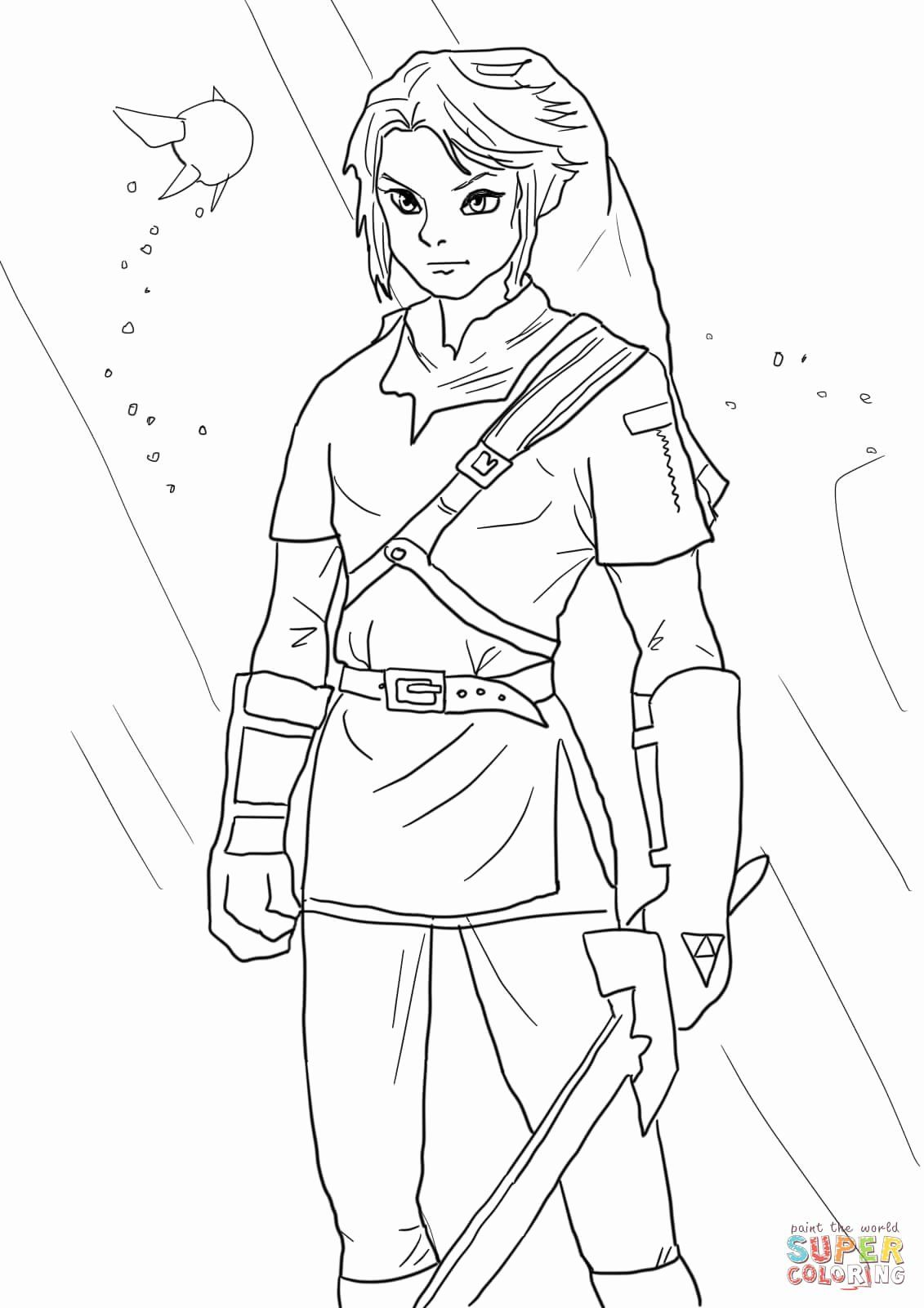 Zelda Coloring Page (With images) Monster coloring pages