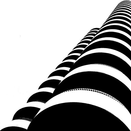 the balconies by Darwin Bell, via Flickr