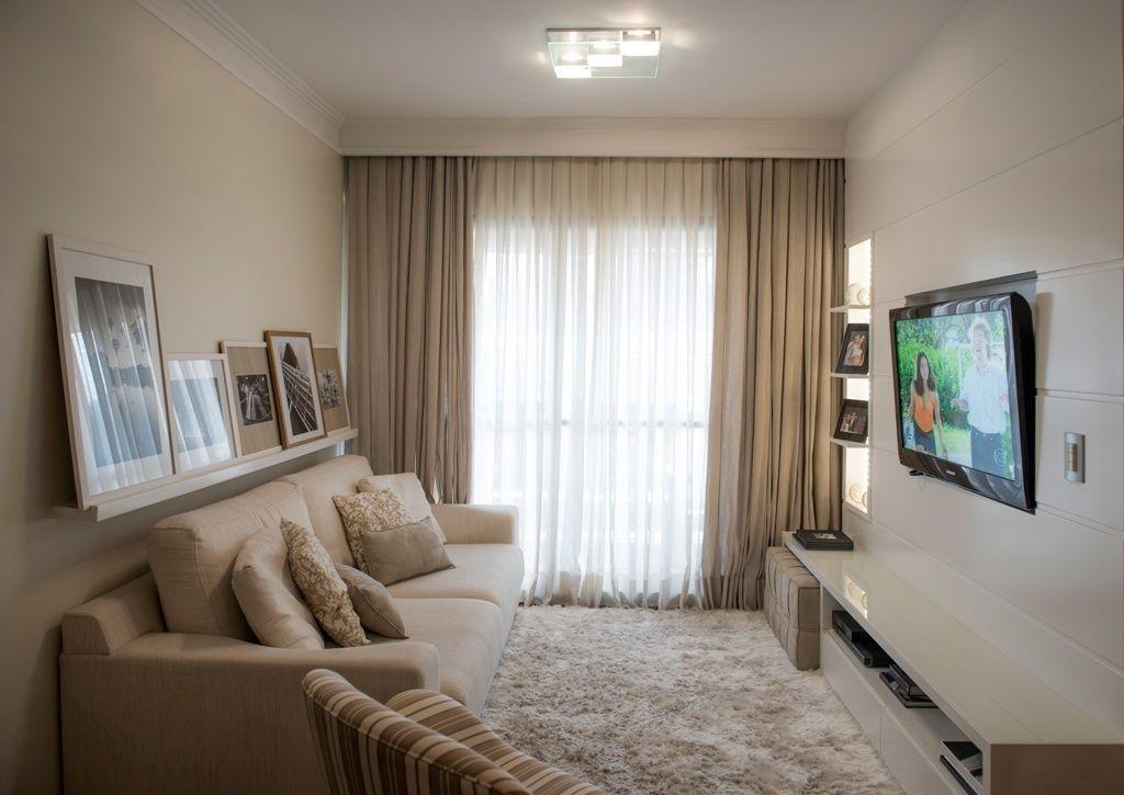 Resultado de imagem para sala de estar pequenas e modernas - persianas modernas