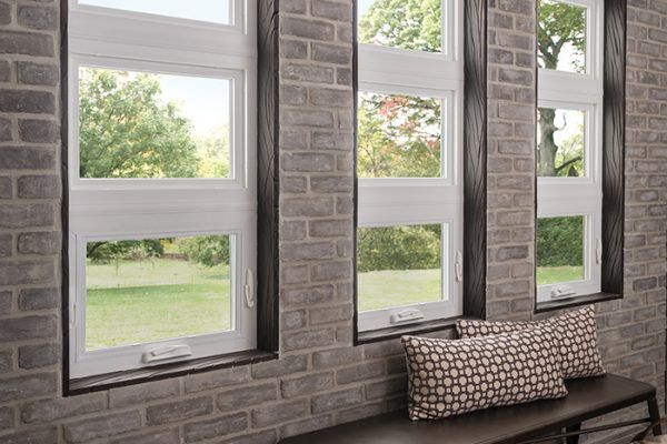 Three Awning Windows In A Contemporary Entry Hall Window Awnings Windows Awning Windows