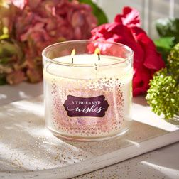 �ล�าร���หารู��า�สำหรั� Bath & Body Works�A Thousand Wishes�3-Wick Candle