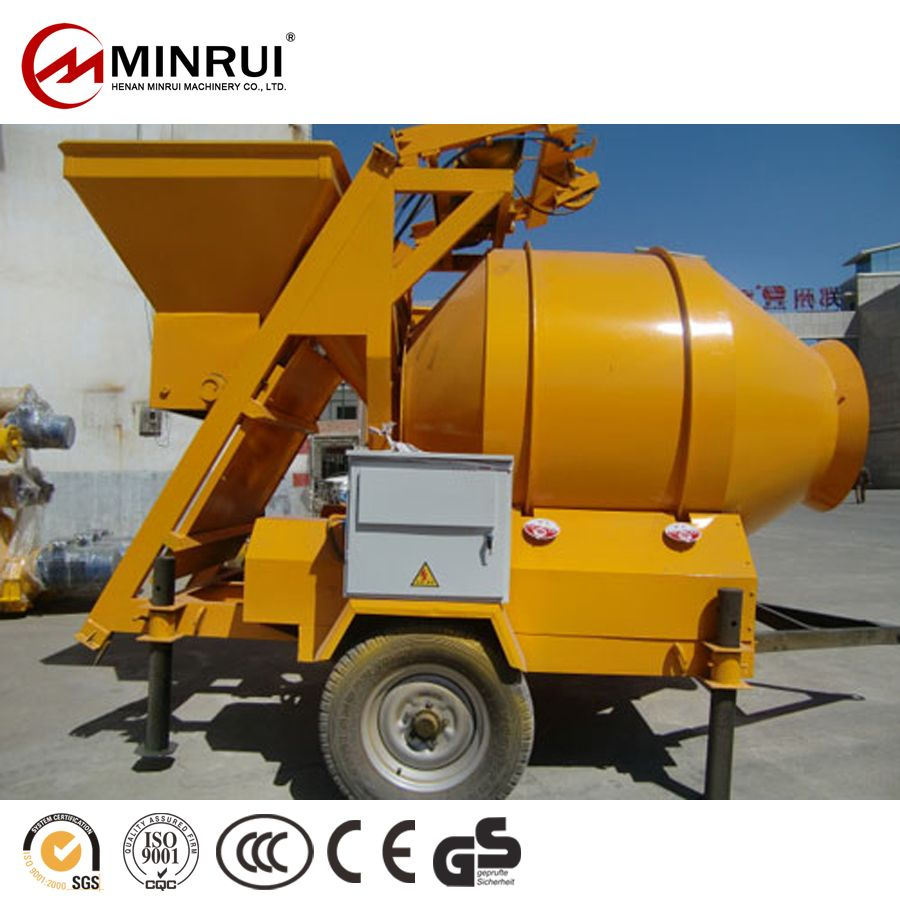 Top Quality JZM750 used portable concrete mixers for sale with CE