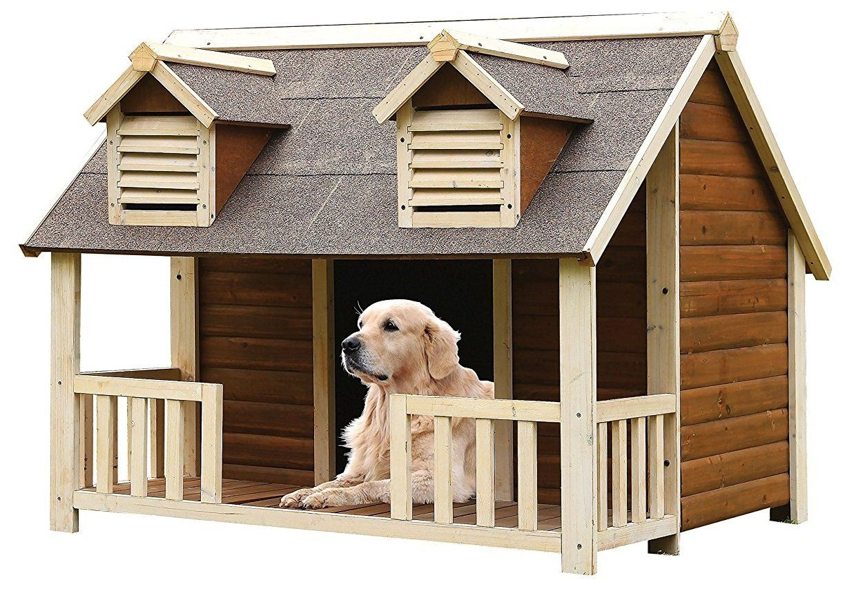 Major Q 19th Century Style Old Home Dog House Click Image For