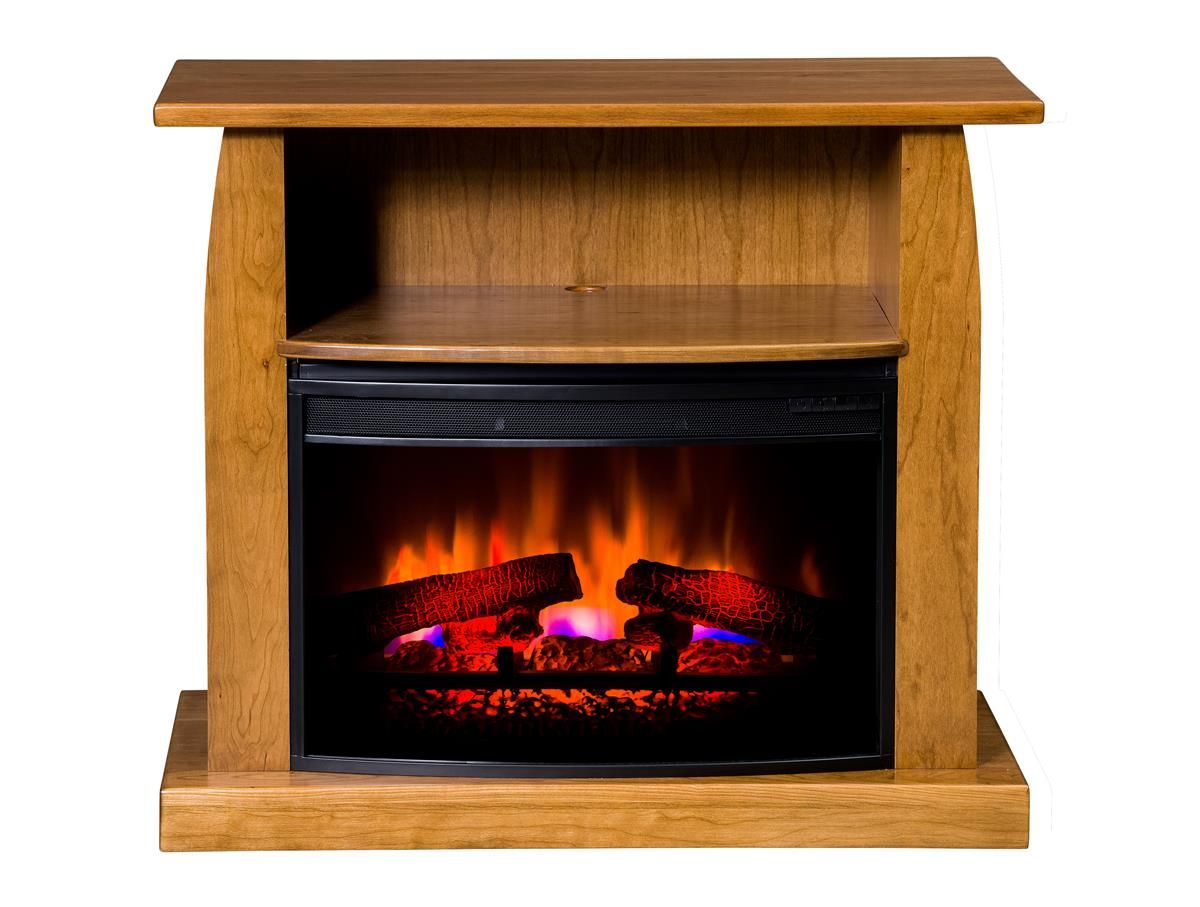 American Made Shaker 38 Electric Fireplace Tv Stand Electric