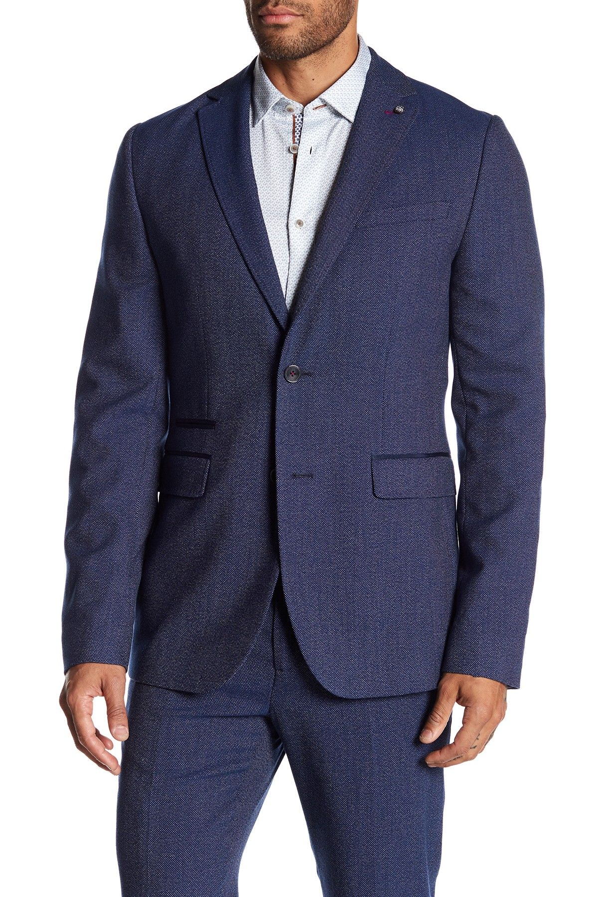 0c6568c23 Ted Baker London Flyitt Tall Fit Semi Plain Jacket