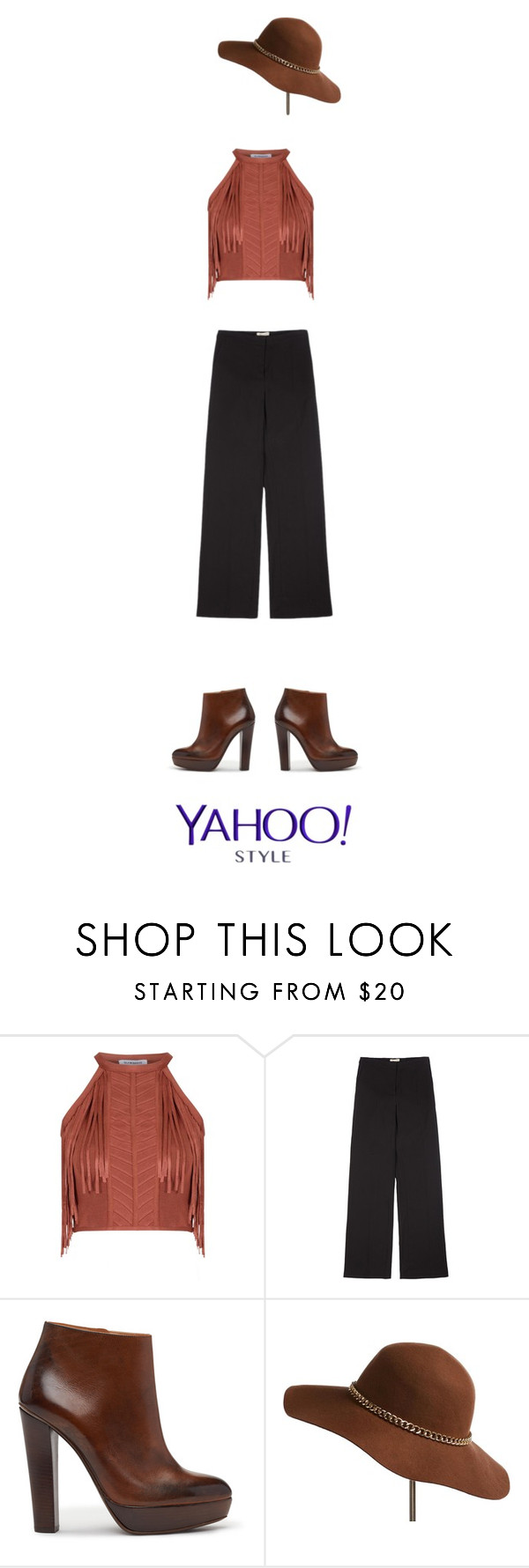 """""""cow boy?"""" by ines-armandine ❤ liked on Polyvore featuring Glamorous, Brochu Walker, contestentry and yahoostyle"""