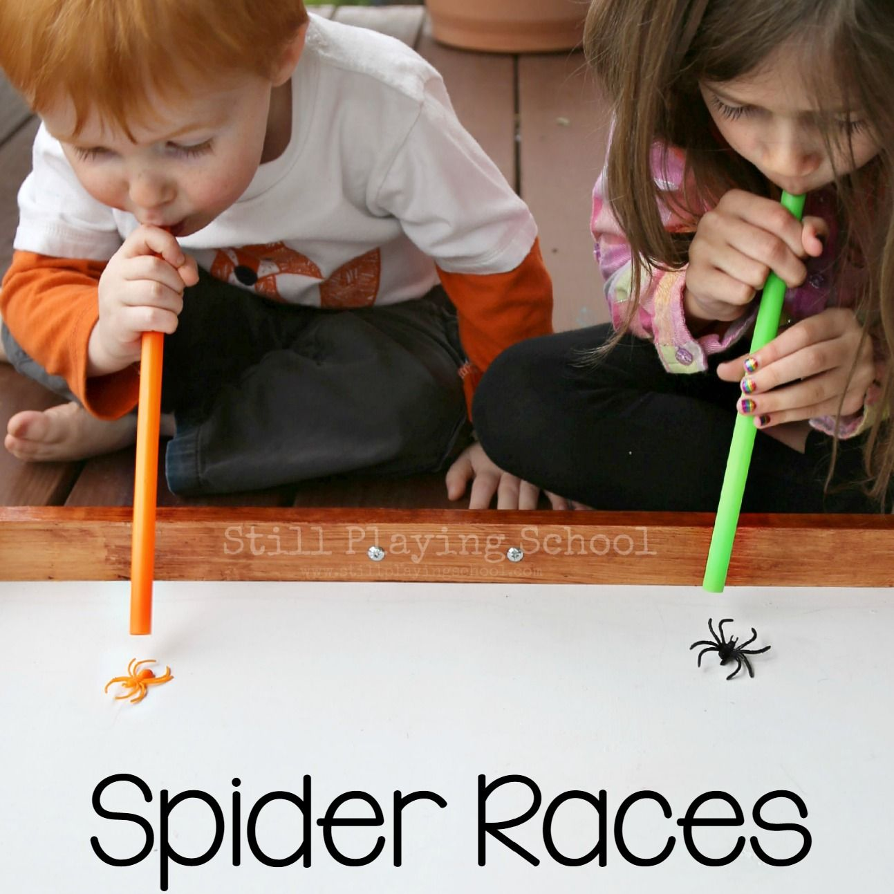 Spider Races in 2019 Classroom halloween party