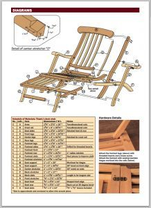 Free Titanic Style Deck Chair Plans Deck Chairs Titanic Popular Woodworking
