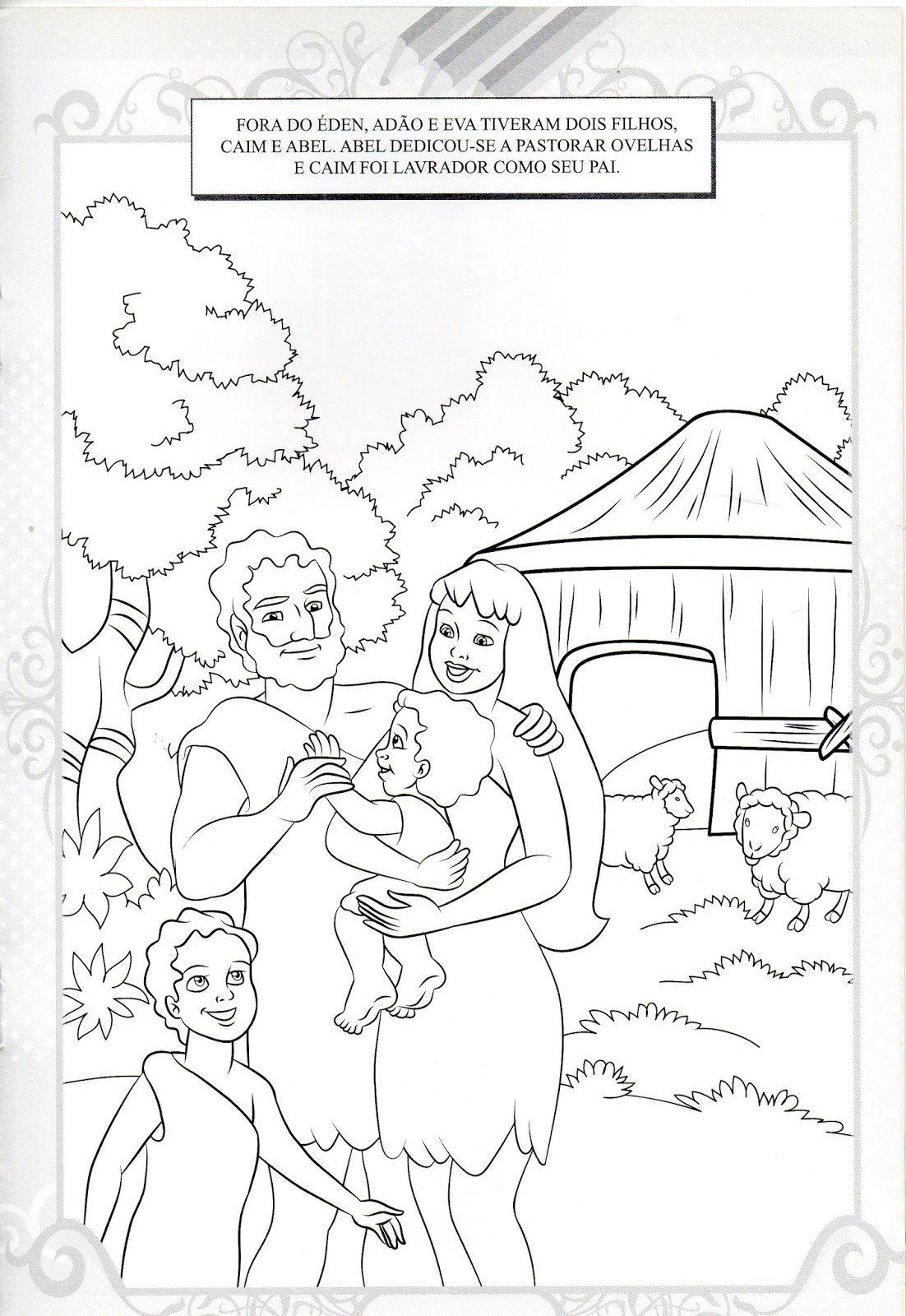 Pin Em Desenhos Biblicos Para Colorir