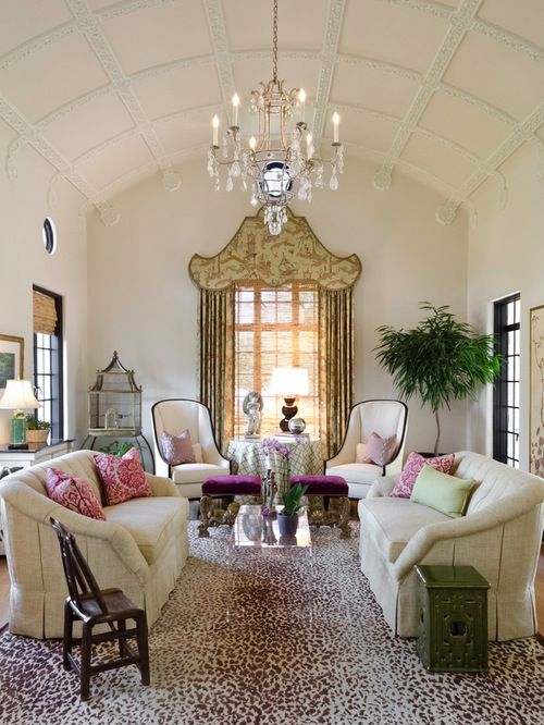 Decorating In Modern Chinoiserie Style Mediterranean Living Rooms Home Interior Design