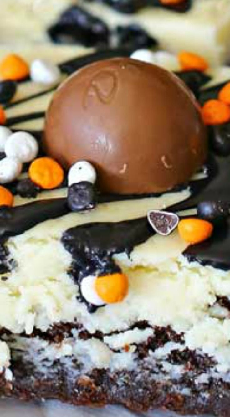 Halloween Brownies ~ A delicious Halloween treat #halloweenbrownies