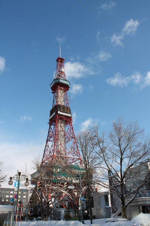 FrauMB far far away: Den Wolken ein Stück näher - Sapporo TV Tower - Hi...