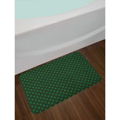 East Urban Home Ambesonne Money Bath Mat By Pattern Of Dollar