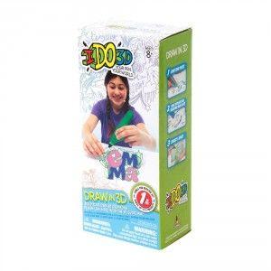 Apenas R$79,90. Ido 3D é um brinquedo revolucionário e que parece coisa do futuro. Uma caneta para fazer desenhos 3D que secam, se unem e podem produzir seu próximo brinquedo. Mais uma novidade criativa e divertida que a Bambalalão Brinquedos traz para você.