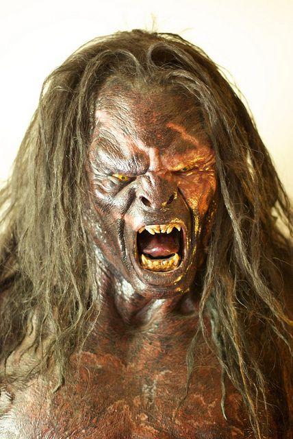 Uruk Hai Making Monsters Orcos El Senor De Los Anillos Hobbit