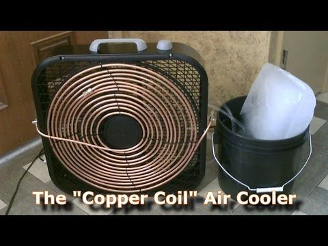 how to make a homemade air conditioner with a fan