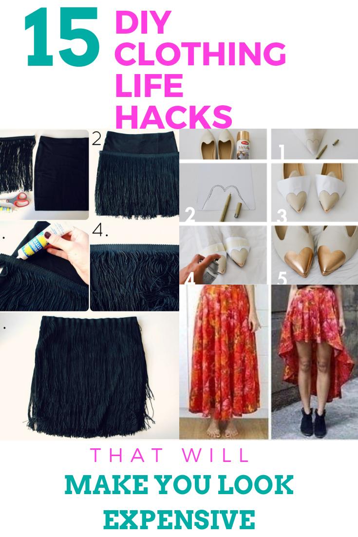 13 DIY Clothes Shoes outfit ideas
