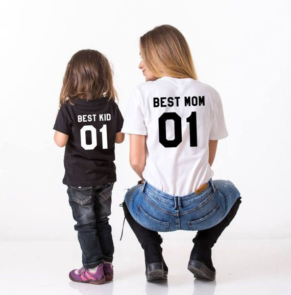 Best Mom 01 Best Kid 01 Mother S Day Shirts Mother