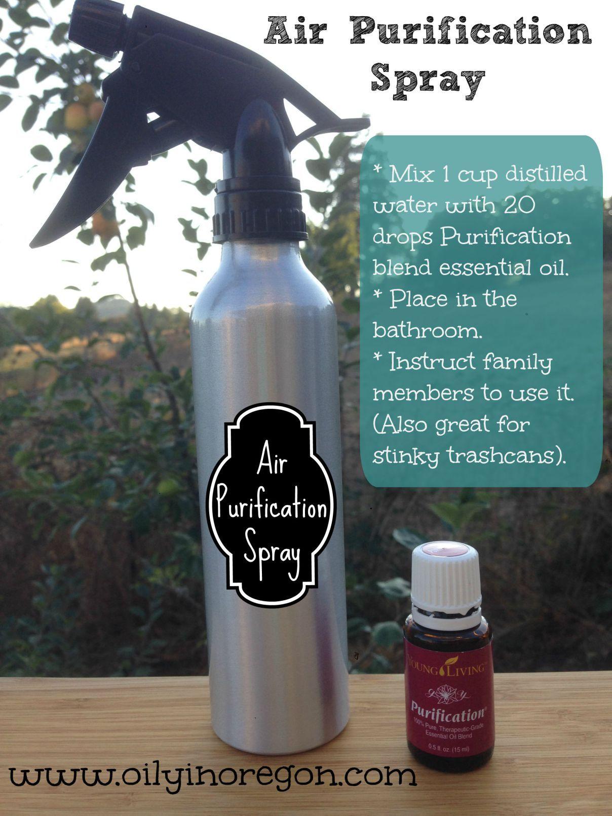 Air Purification Spray recipe Purification spray