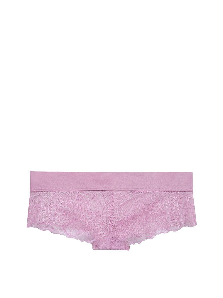 88c4e9a465a8 PINK Shine Floral Lace Cheekster | Products | Lace shorts, Floral ...