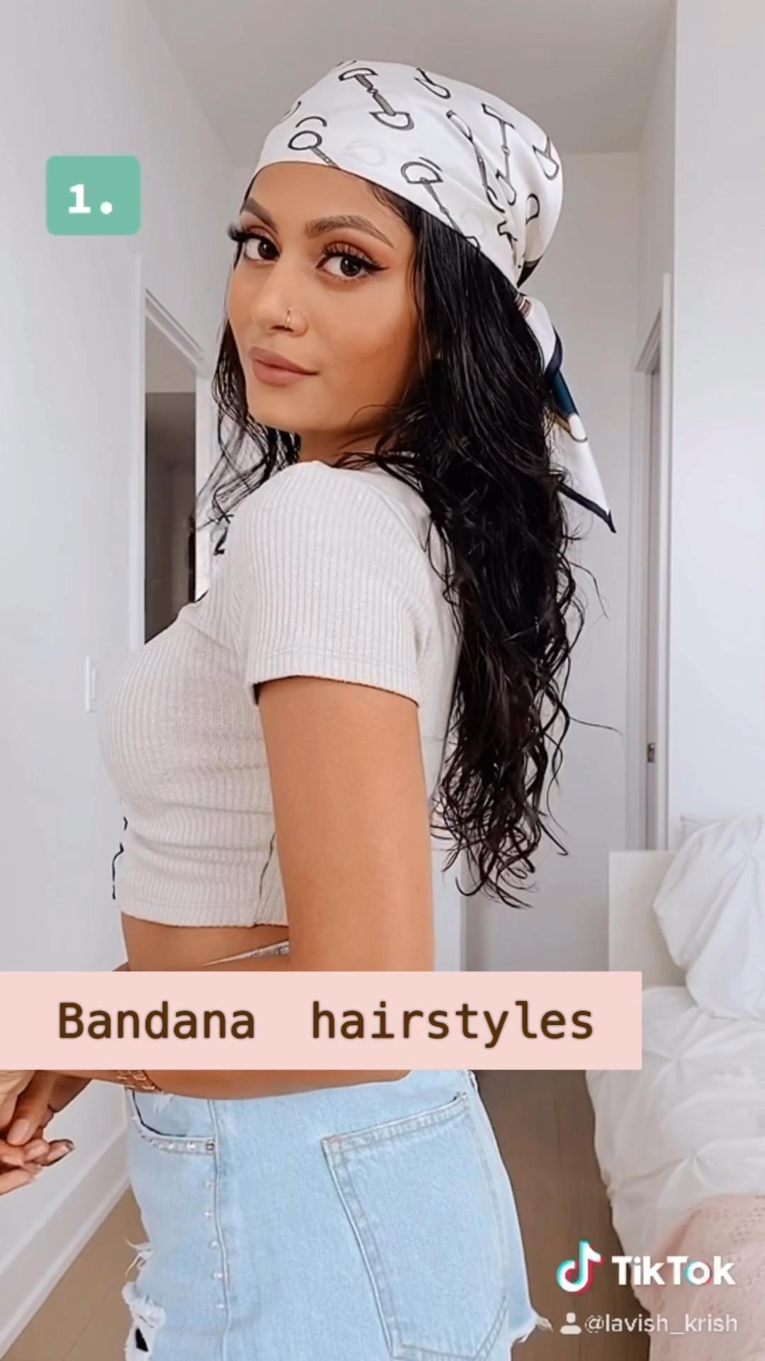 Pin On Hairstyles New Headband Hairstyles Hair Styles Hair Scarf Styles